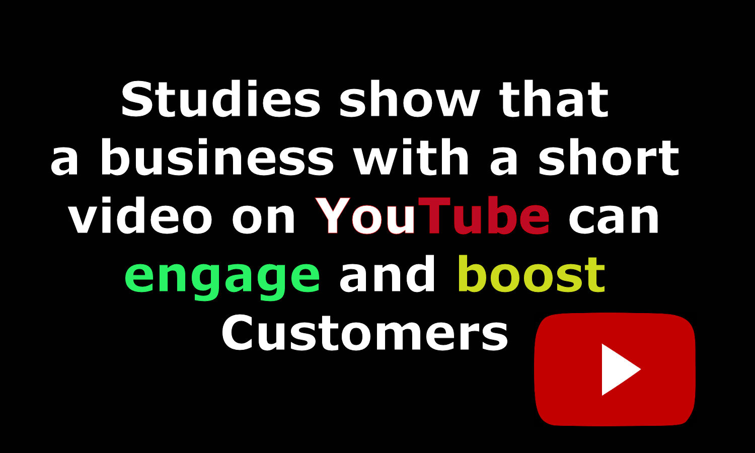 Video Boosts Business