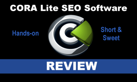 CORA Lite SEO Software
